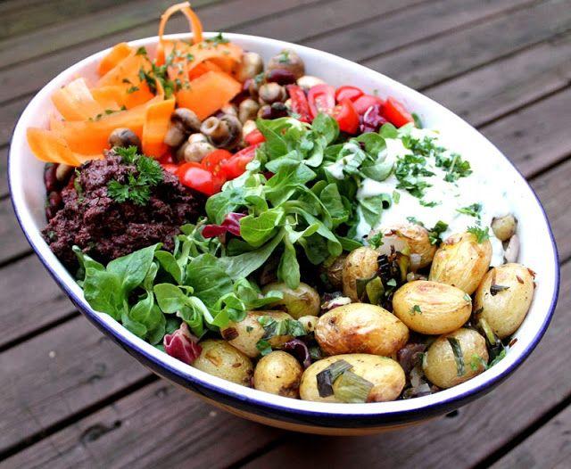 veganer på middag