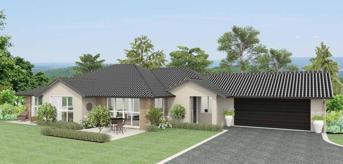 maestro 4 bedroom house design landmark homes builder nz - House Plans Landmark Homes New Zealand