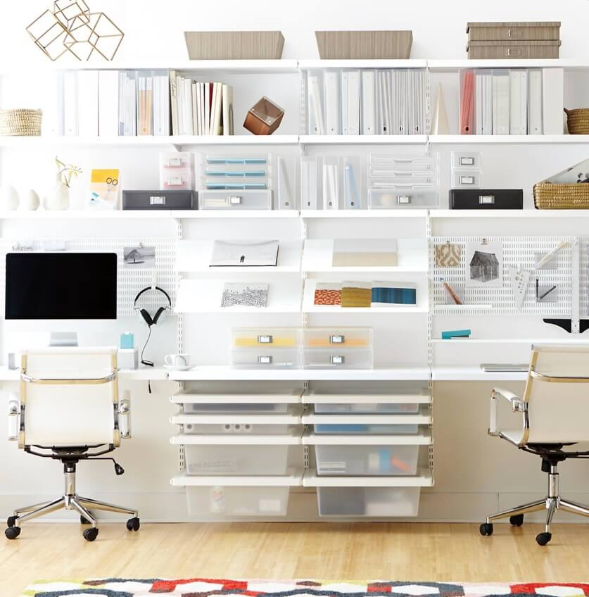 6 Home Office Organization Ideas In 2020 Home Office