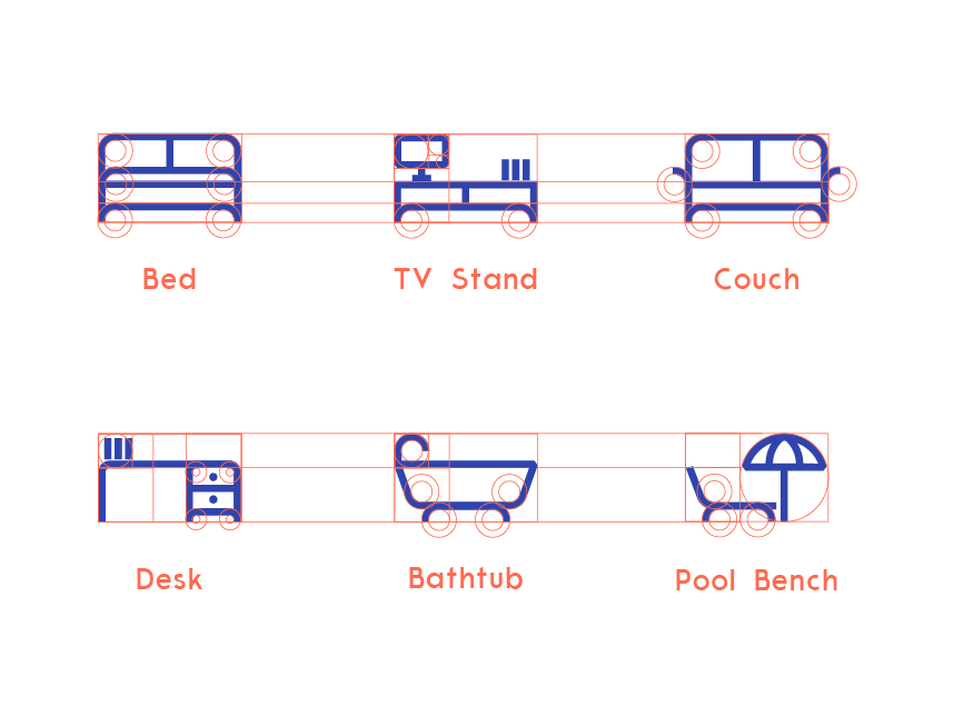 Furniture Icon Icon Interactive Design Kiddos