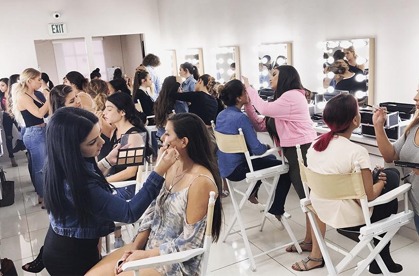 Vanity Makeup Makeup School Makeup Classes Los Angeles Makeup Vanity School Makeup Makeup Class