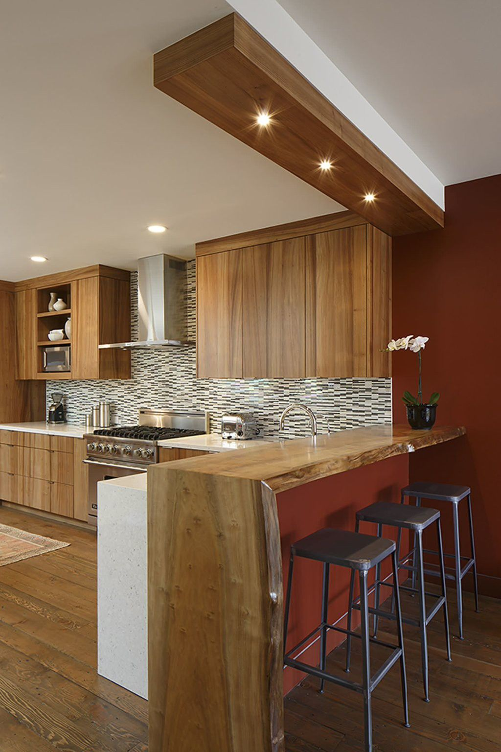 Elegant Slim Pendant Light Wohnung Umbau