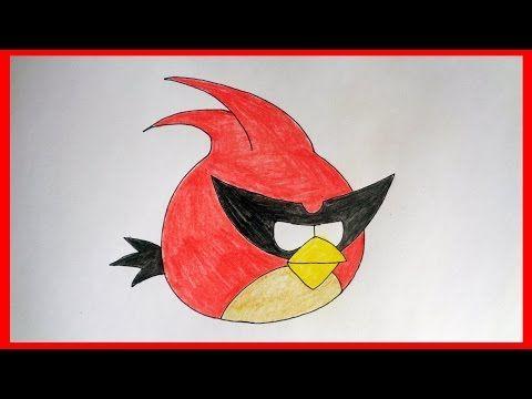 Como desenhar o Lazer Bird de Angry Birds Space - YouTube