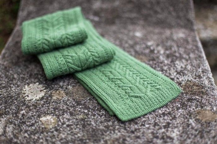 Mens Knitted Cable Scarf Knitting Pattern | Knitting | Pinterest ...