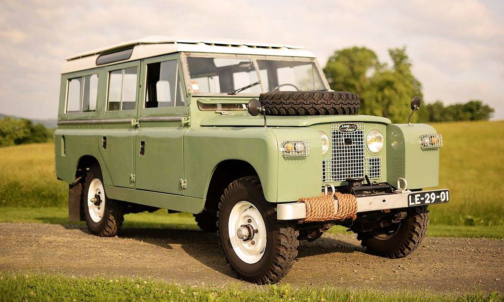 1965 Land Rover 109 Station Wagon Cool Material Land Rover Series Land Rover Station Wagon