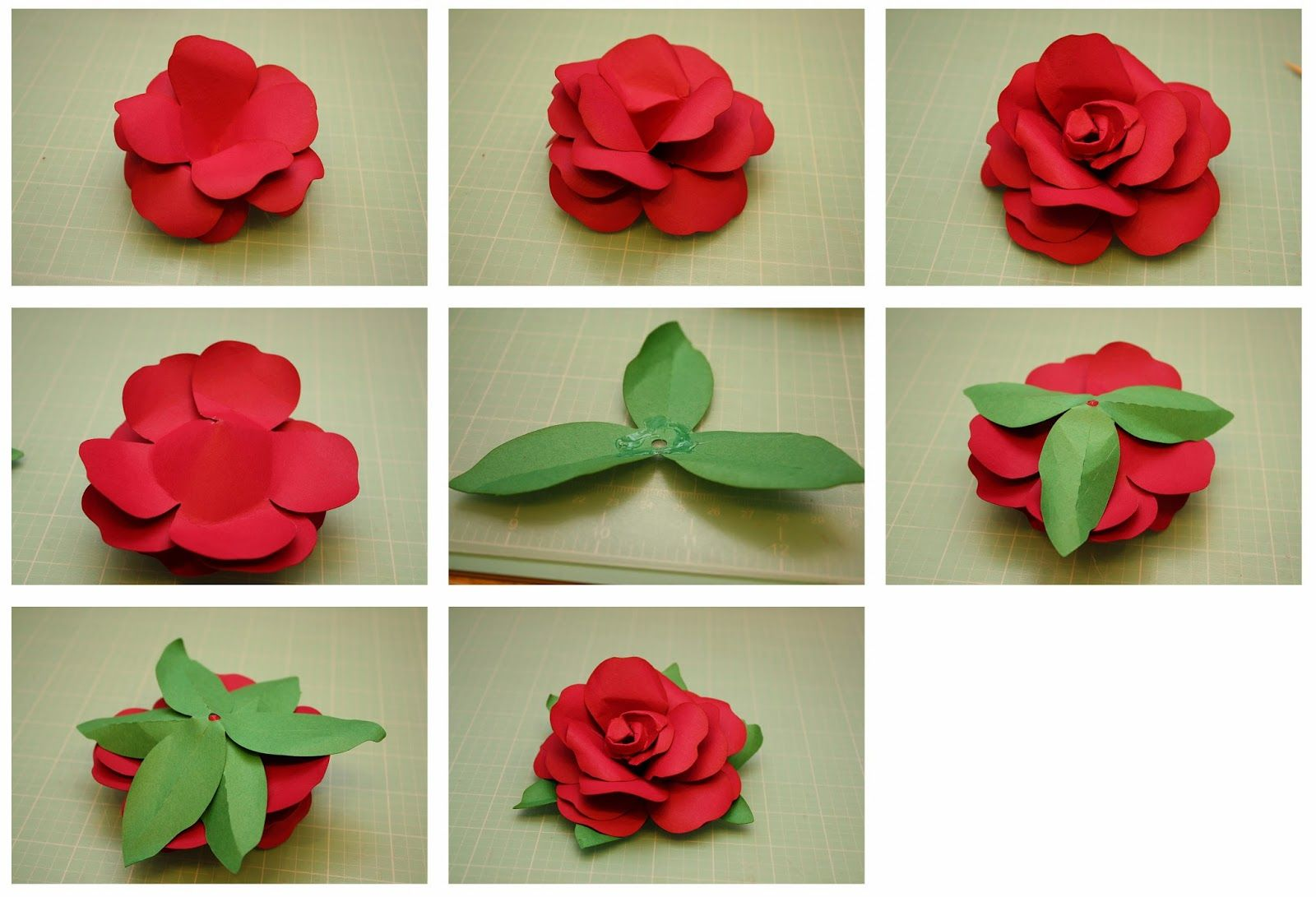 Over the next couple weeks i will be introducing you to my new 3d bits of paper rolled rose and easy to assemble rose paper flowers mightylinksfo