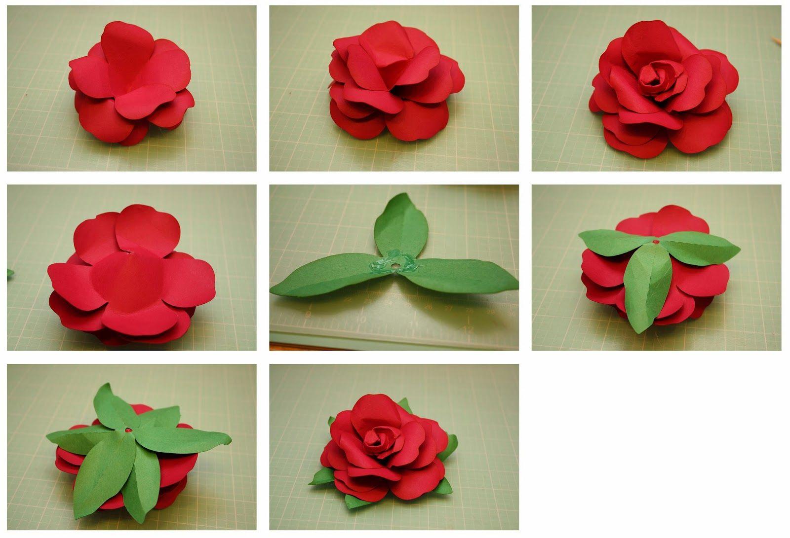3d paper flower selol ink 3d paper flower easy mightylinksfo