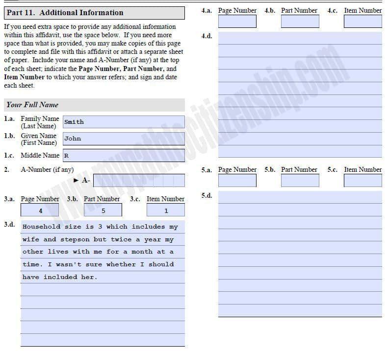 I 864 Fillable form How to Fill Out form I 864 Affidavit