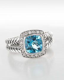 cecf69d593fc David Yurman blue topaz ring
