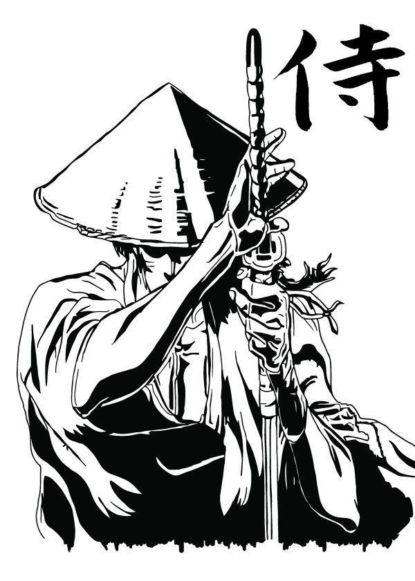 Jubei V1a Fanart Based On The Anime Amp Manga Poster