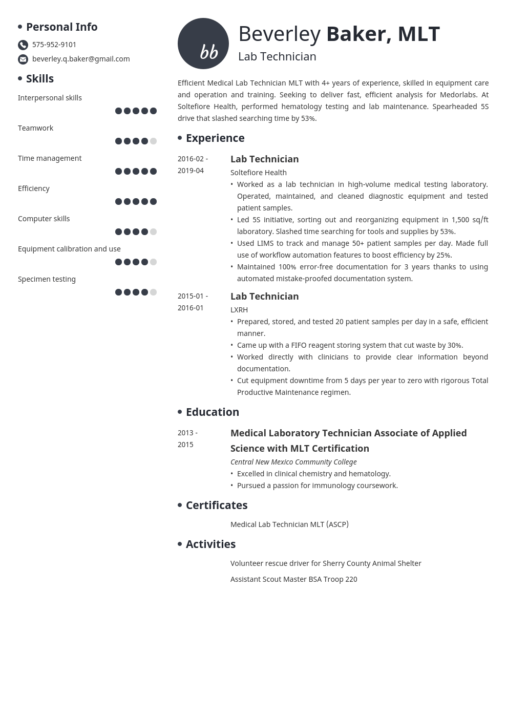 caregiver resume template vibes in 2020 Resume examples