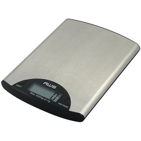 American Weigh Scales Digital 11-lb. Kitchen Food Scale ...