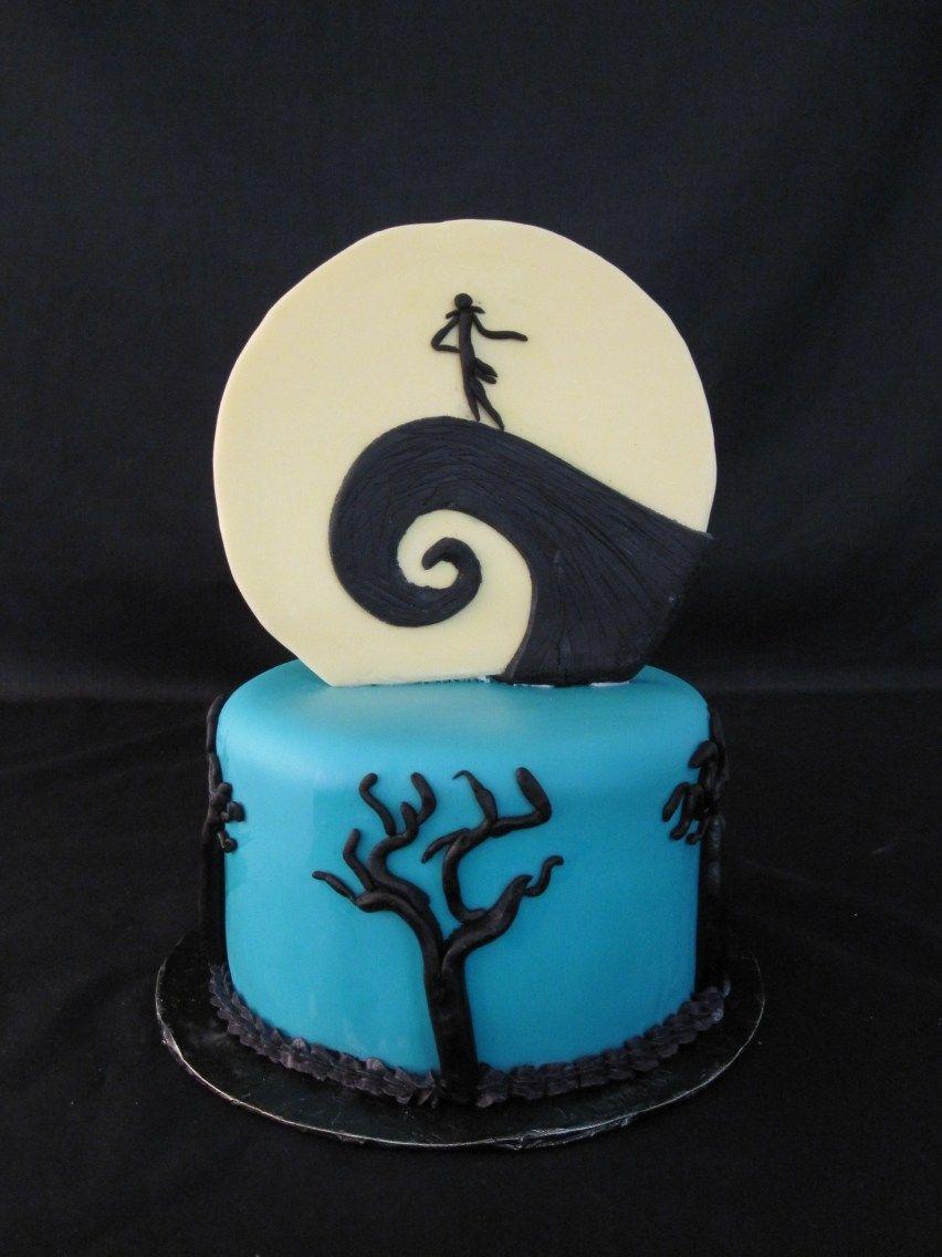 Jack Skellington Birthday Cake Nightmare Before Christmas