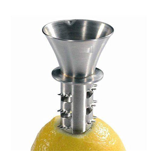 EdelstahlEntsafter. manuelle Zitronenpresse für Obst