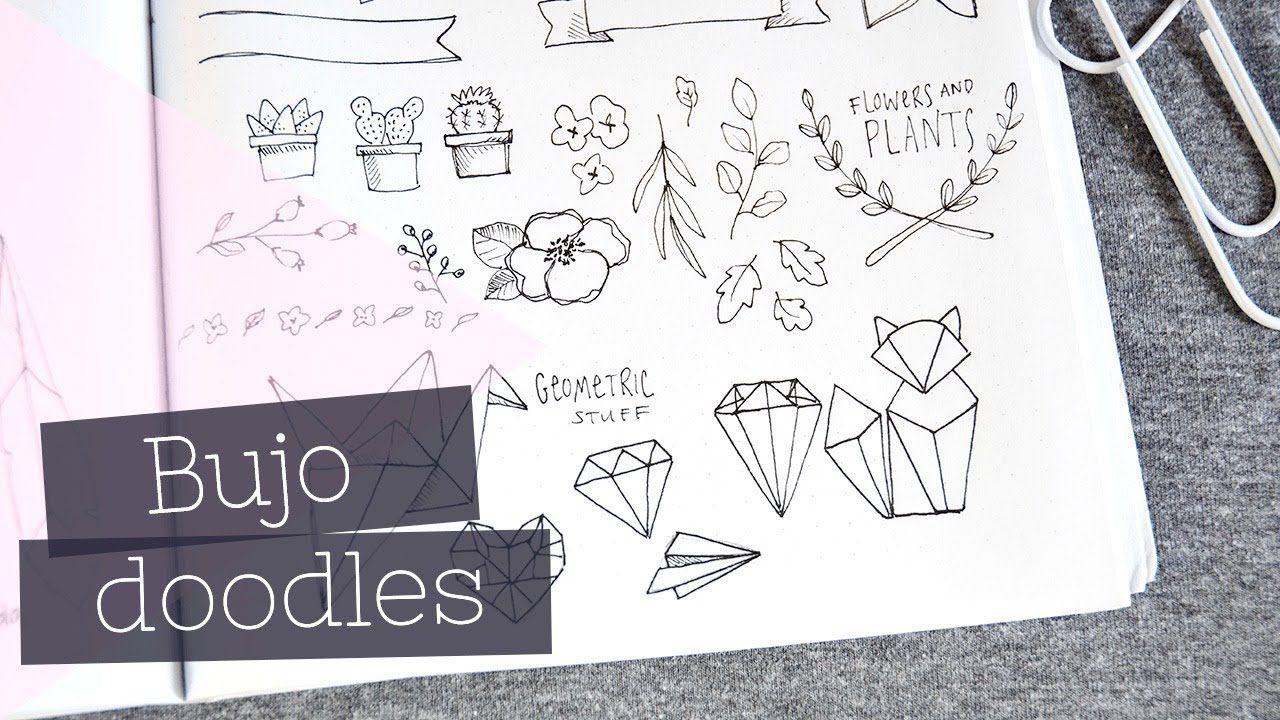 Bullet Journal Doodles | Lettering + Planner Accents