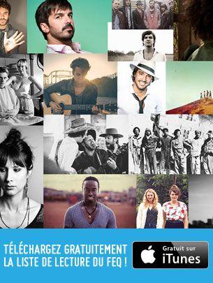 Téléchargez plus de 20 chansons gratuites d'artistes du Festival d'été de Québec !  Écoutez des artistes émergents tels que July Talk, Local Natives, Alex Nevsky, The Seasons, Damien Robitaille et d'autres ! Visitez le site du Festival et téléchargez la liste dès maintenant !