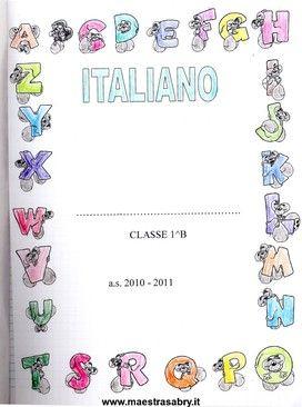 Amato Quaderno Di Italiano Classe Prima Elementare GG38 » Regardsdefemmes SI62