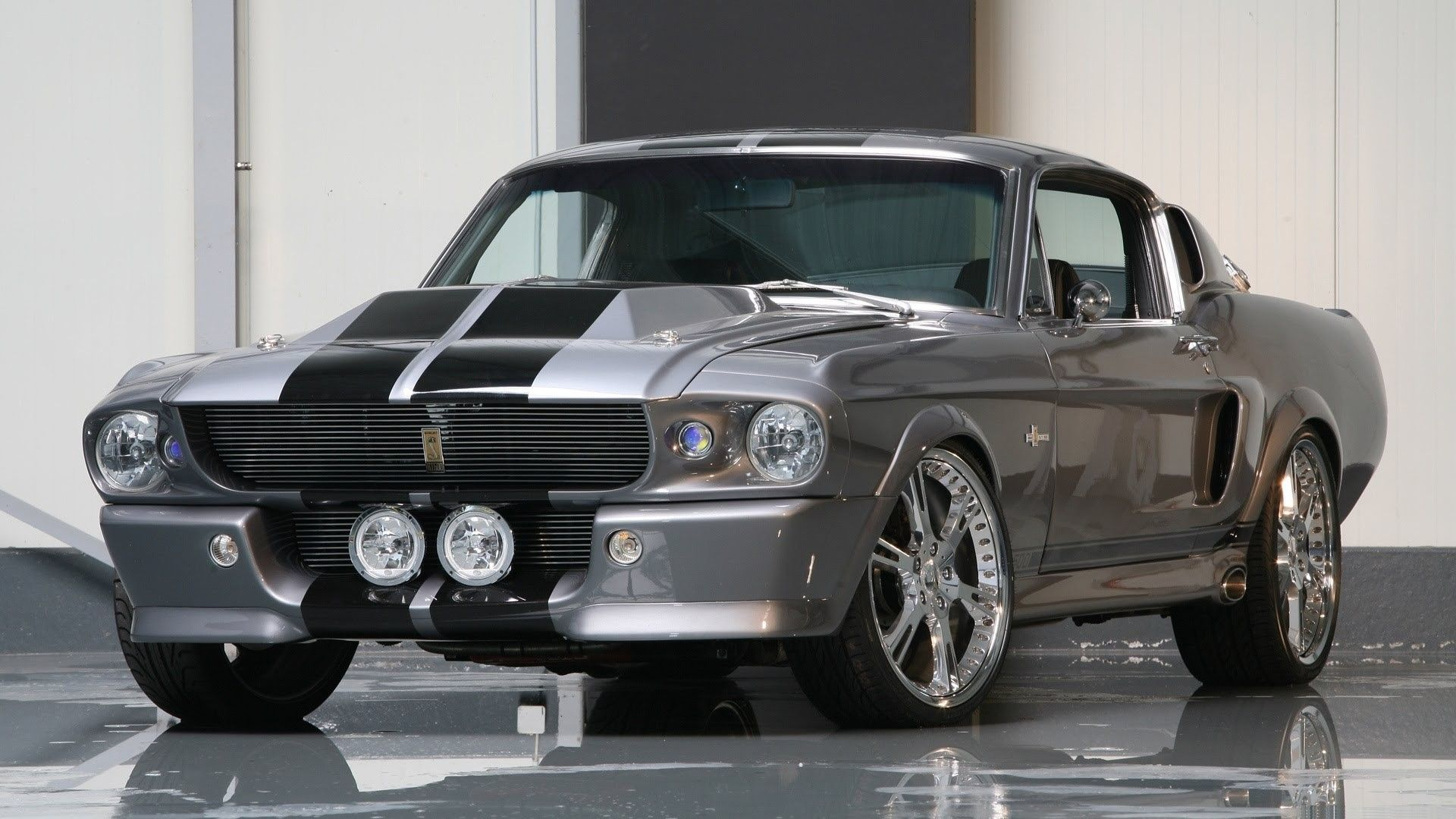 1967 Ford Mustang Shelby Gt500 Eleanor Look Shelby Gt 500