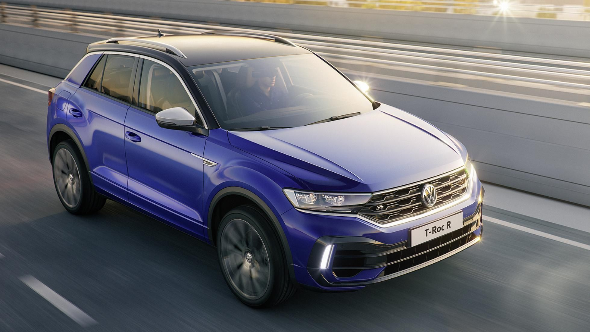 The Vw T Roc R Might Make The Golf Gti Feel Insecure