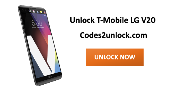 How to Carrier Unlock your T-Mobile LG V20 by Device Unlock App so