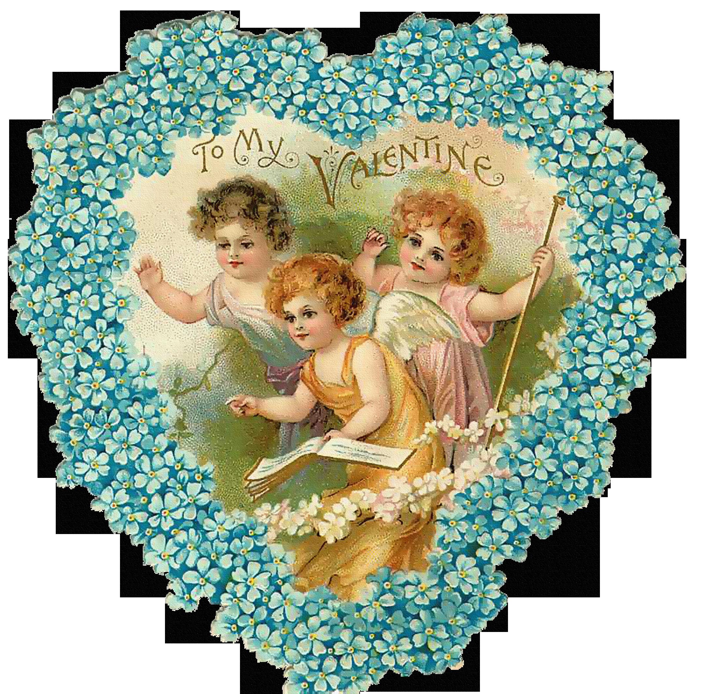день валентина открытка в голубом цвете закрепить наличник окно
