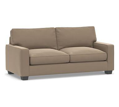 Pb Comfort Square Arm Upholstered Sleeper Sofa Box Edge Polyester