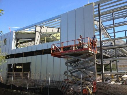 HEDu0027s Design Uses Standing Seam Insulated Metal Panels To Realize Multiple  Advantages. These