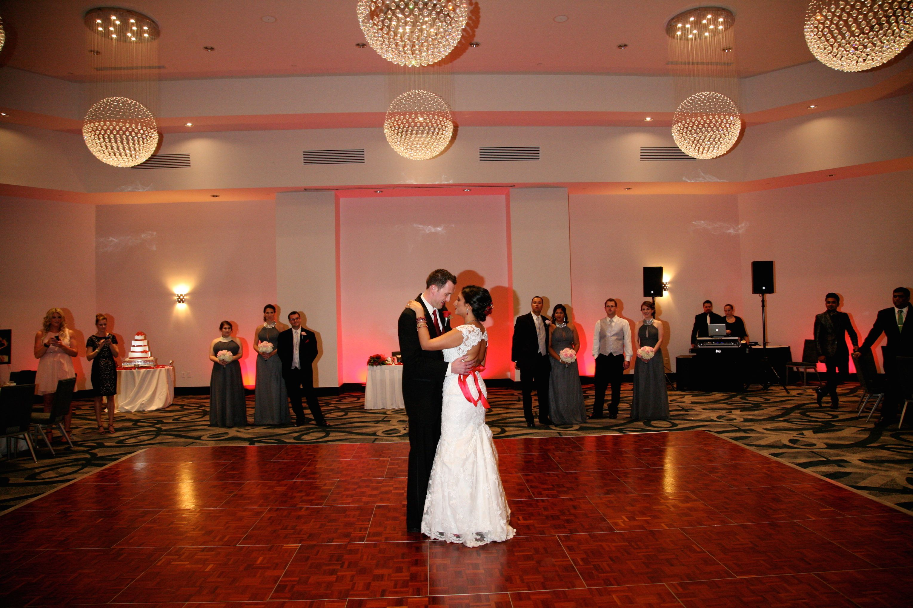White Rose Entertainment B Resort Spa Garter Orlando Wedding DJ
