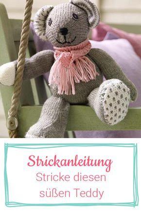 Photo of Strickanleitung für einen süßen Teddy | Wunderweib