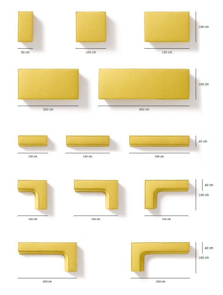 Trio Corner Armchair Trio Collection By Cor Sitzmobel Helmut Lubke Design Team Form Corner Sofa Fabric Sofa Design Spacious Sofa