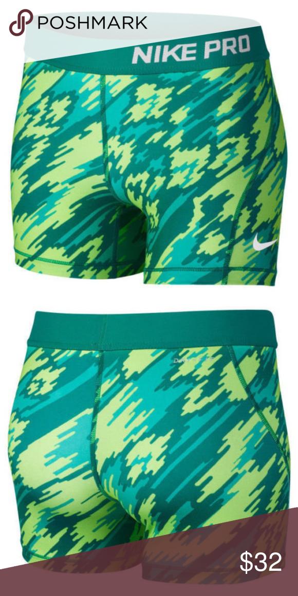 721e4cc04c Nike Girl's Pro Cool Compression Training Shorts NEW!! Nike Girl's Pro Cool  Compression Blue