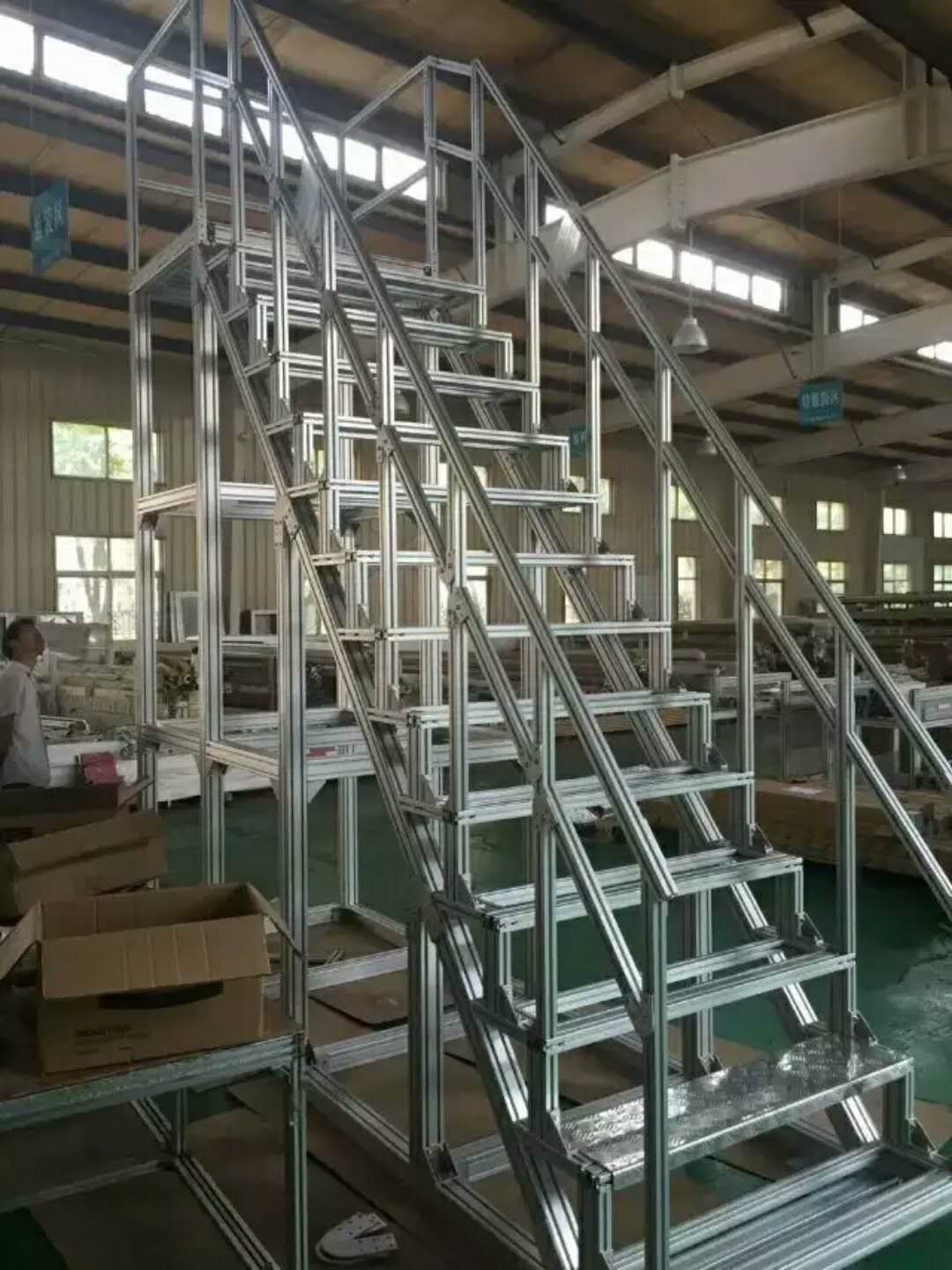 Hoonly T Slot Aluminium Extrusion For Step Ladder Widely