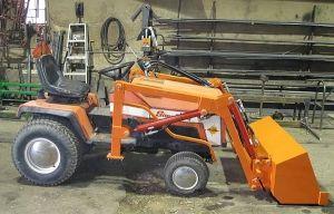 Simplicity Sunstar garden tractor loader_2 | Simplicity 4041