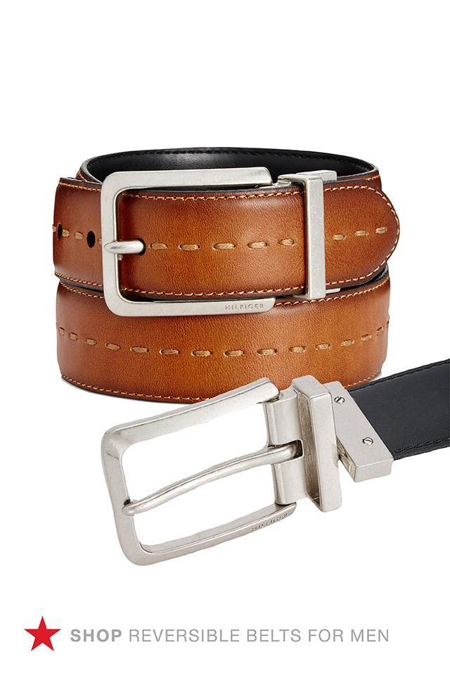 f9fb47c9b79 This two-in-one Tommy Hilfiger reversible belt is the way to go when you  need a new belt for your weekday and your weekend wardrobe. Shop now!