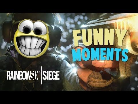 Awesome Hilarious Rainbow Six Siege R Funny Moments