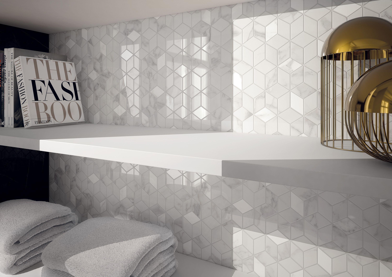 @marcacorona DELUXE collection - #Hexagon #Marble #Wall #Tiles decor