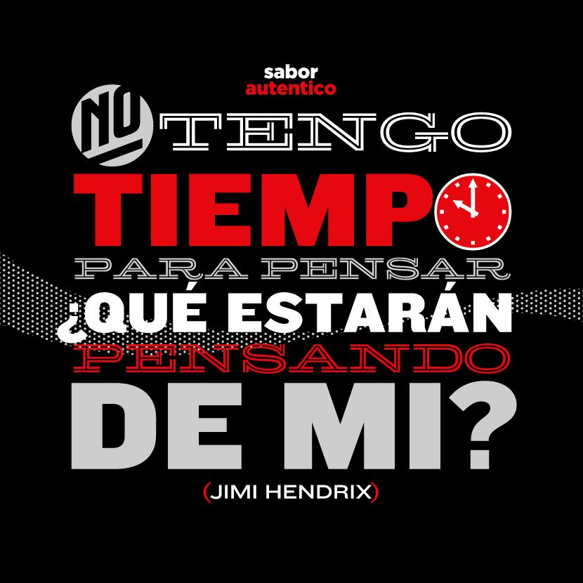 Frase Auténtica: Jimi Hendrix / Coca-Cola Zero