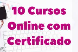 CURSOS ONLINE COM CERTIFICADO - 15 cursos online e...