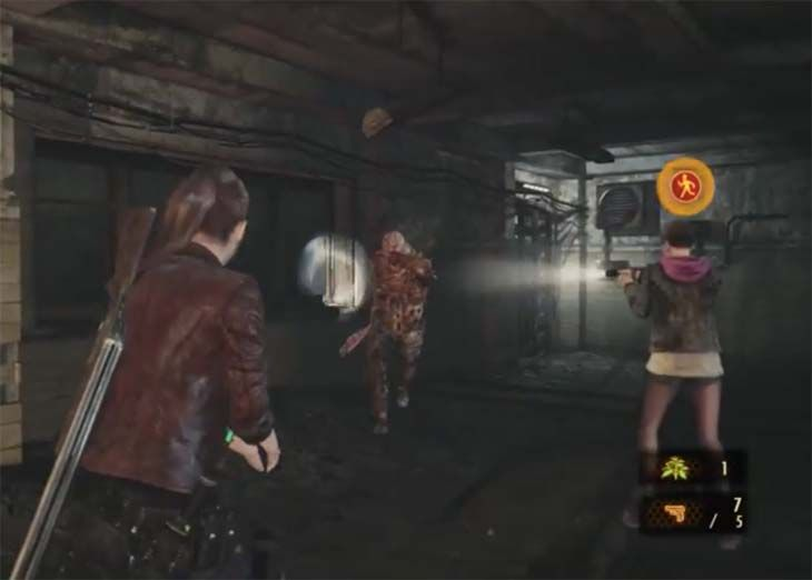 Take a look at this Resident Evil: Revelations 2 gameplay to learn