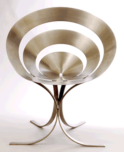 "MARIA PERGAY ""Ring"" chair"