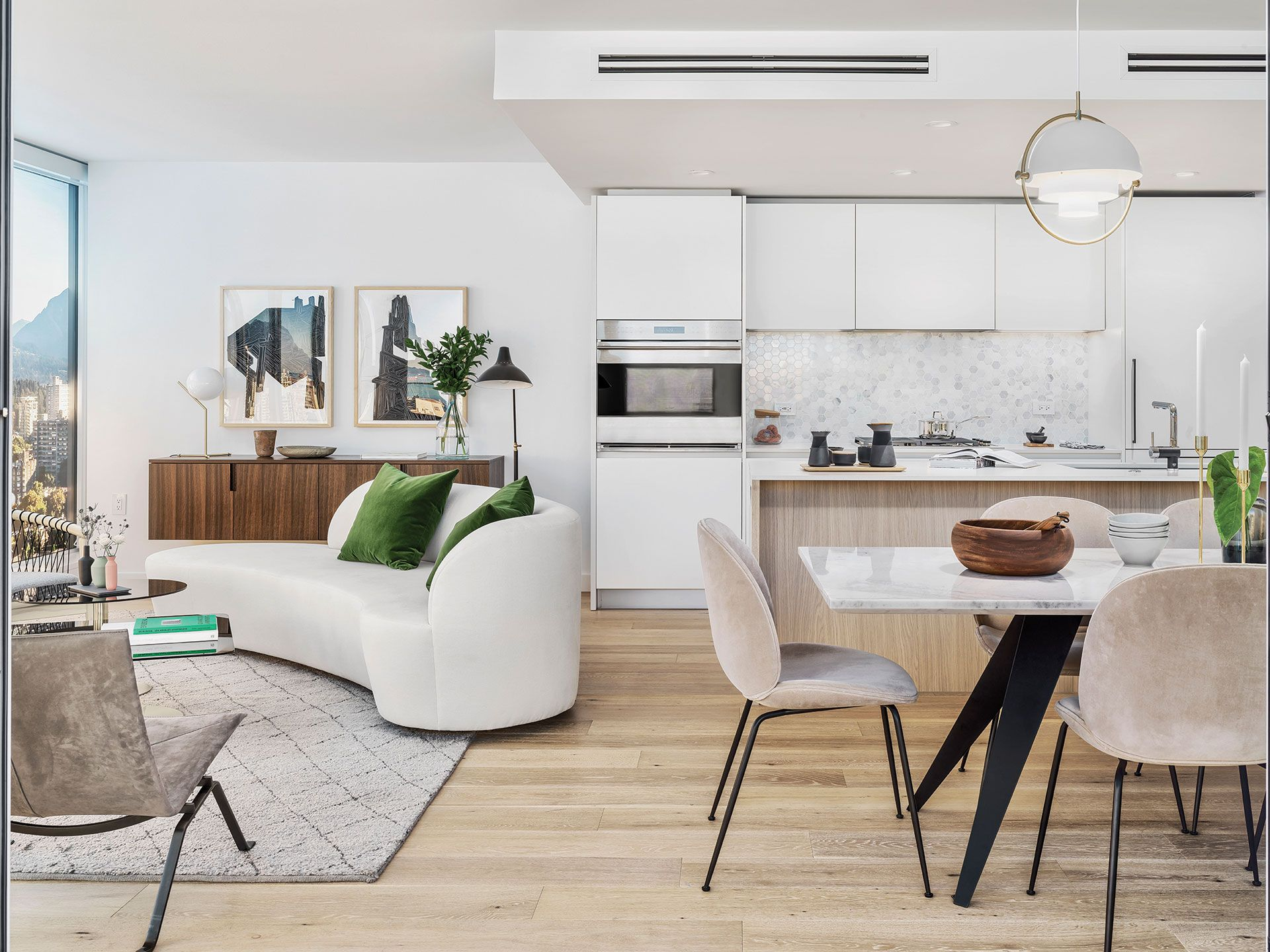 3 Unique Ways to Design an Open-Concept Condo Kitchen ...