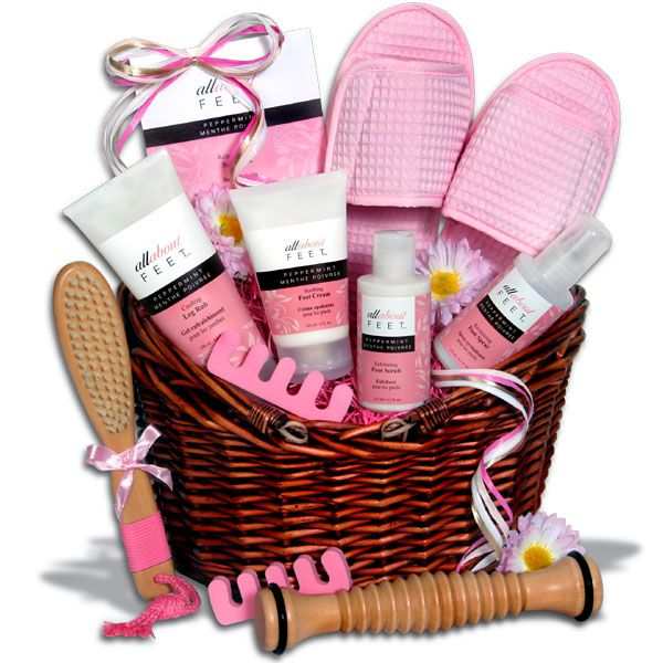 Unique Wedding Gift Basket Ideas: Deluxe Pedicure Gift Basket- Cavett Kids Got Talent Is 11