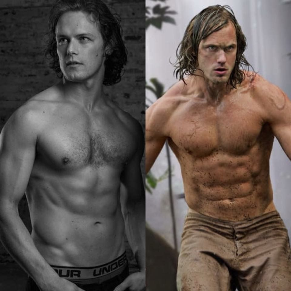 Sam Heughan Body