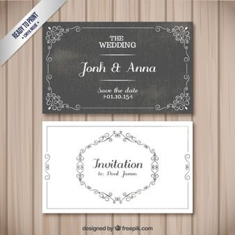 Retro Hochzeitskarten Bride Pinterest Wedding Cards