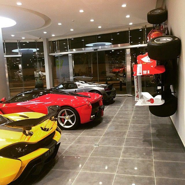 P1, LaFerrari, 918 and the Ferrari F1 on the wall... Only at SEVEN CAR LOUNGE where you see super special cars everywhere... @mclaren @mclarenauto @ferrari_automotive @ferrarimotorsport @porsche @porsche_purists #porsche #Mclaren #Ferrari #P1 #Laferrai #918 #F1 #saudi #london #saudicarz #dubai #doha #mydubai #mylove #seven #seven_collection