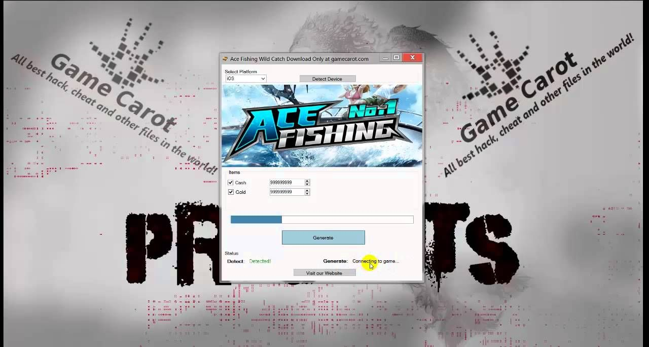 Ace Fishing Wild Catch Hack iOS Android iPhone Ace Fishing