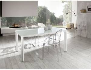 Vetro Tavolo ~ Metropolis tavolo ovale in acciaio e vetro tavolo con piano