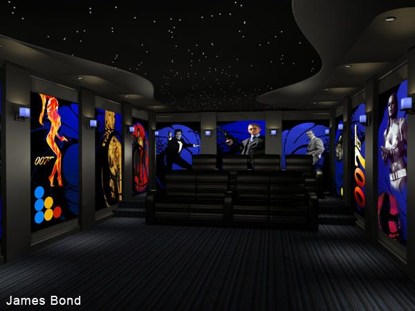 Home Theater Murals And Themes