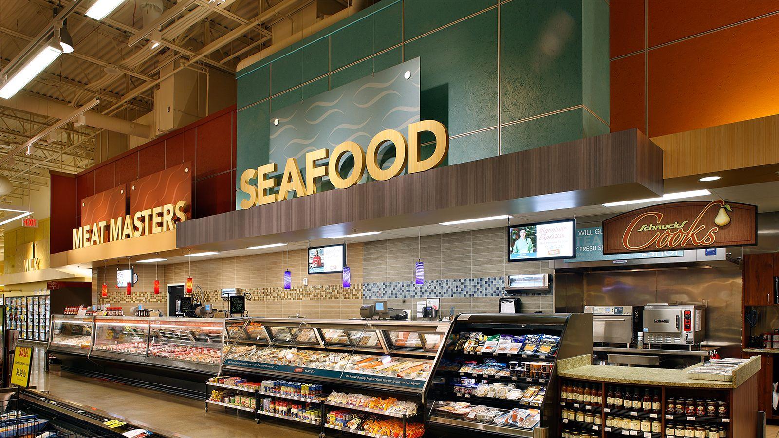 schnucks Supermarket design, Grocery store design