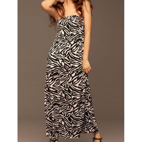 #Zebra #Print #Dress
